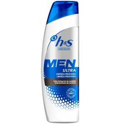 H&S MEN ultra limpieza profunda 300 ml