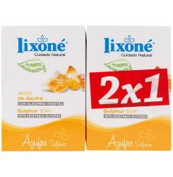 AZUFRE jabón piel grasa-puntos negros 2 x 125 gr