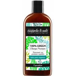 100% GREEN champú apto veganos 250 ml