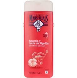 AMAPOLA & LECHE DE ALGODÓN gel de ducha 400 ml