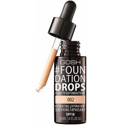 #FOUNDATION DROPS hydrating SPF10 #002-ivory 30 ml