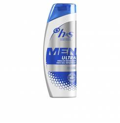 H&S MEN ULTRA champú frescor instant 600 ml