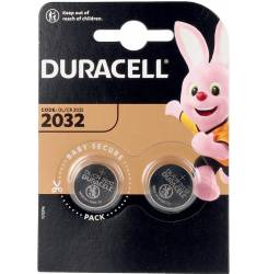 DURACELL BOTON LITIO 3V 2032 DL/CR2032 pilas pack x 2 uds