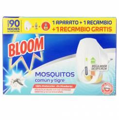 BLOOM MOSQUITOS aparato eléctrico + 2 recambios