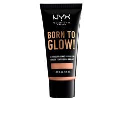 BORN TO GLOW naturally radiant foundation #medium buff