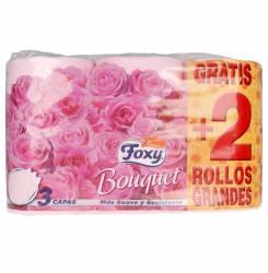 BOUQUET papel higiénico color & perfume 3 capas 6 rollos