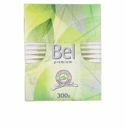 BEL PREMIUM bastoncillos 100% sin plástico 300 pz