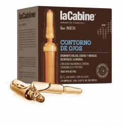 LA CABINE FOR MEN ampollas contorno de ojos 10 x 2 ml