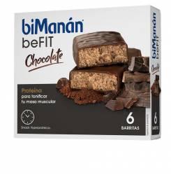 BE FIT barritas #chocolate 6 pz
