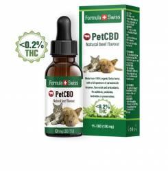 PETCBD natural beef flavour 100mg CBD <0,2% THC 10 ml