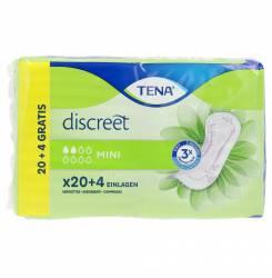 DISCREET compresa incontinencia mini 24 uds