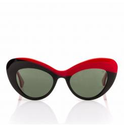MARILYN #15160-rojo negro 55 mm