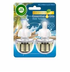 AIR-WICK ambientador eléctrico recambio #oasis 2 x 19 ml