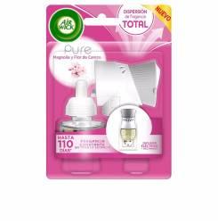 AIR-WICK ambientador electrico completo #flor cerezo 19 ml