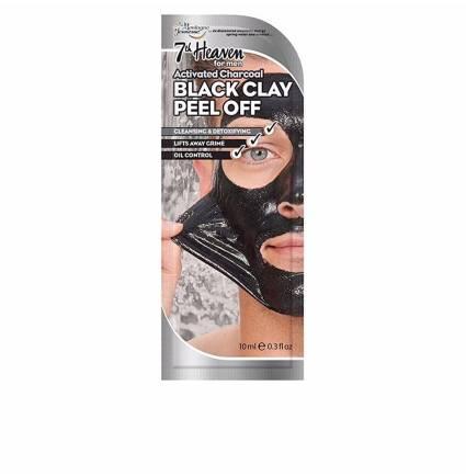 FOR MEN BLACK CLAY peel-off mask 10 ml