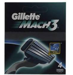 MACH 3 cargador 4 recambios
