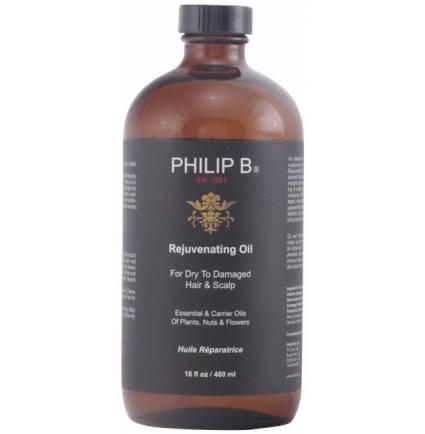 REJUVENATING OIL for dry to damaged hair & scalp 480 ml