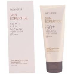 SUN EXPERTISE tinted protective cream SPF50+ face 75 ml