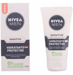 MEN SENSITIVE protector hidratante 0% alcohol SPF15 75 ml
