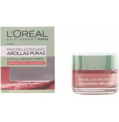 ARCILLAS PURAS exfolia y minimiza poros algas rojas 50 ml