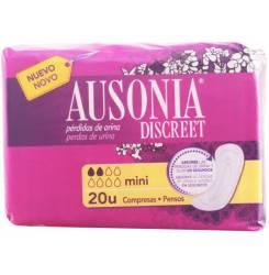 DISCREET compresas incontinencia mini 20 uds