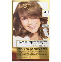 EXCELLENCE AGE PERFECT tinte #5,03-castaño claro dorado