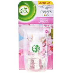 AIR-WICK ambientador electrico recamb #magnolia&cherry 19 ml