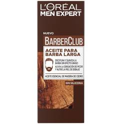 MEN EXPERT BARBER CLUB aceite barba larga 30 ml