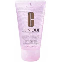 2-IN-1 cleansing micellar gel + light makeup remover 150 ml