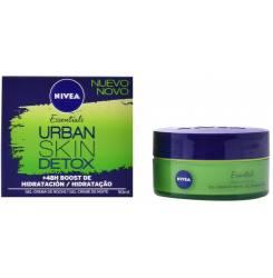 URBAN SKIN DETOX hidratación gel-crema noche 50 ml