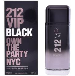 212 VIP BLACK edp vaporizador 200 ml