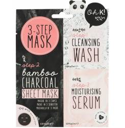 3 STEP CHARCOAL face mask 2 ml